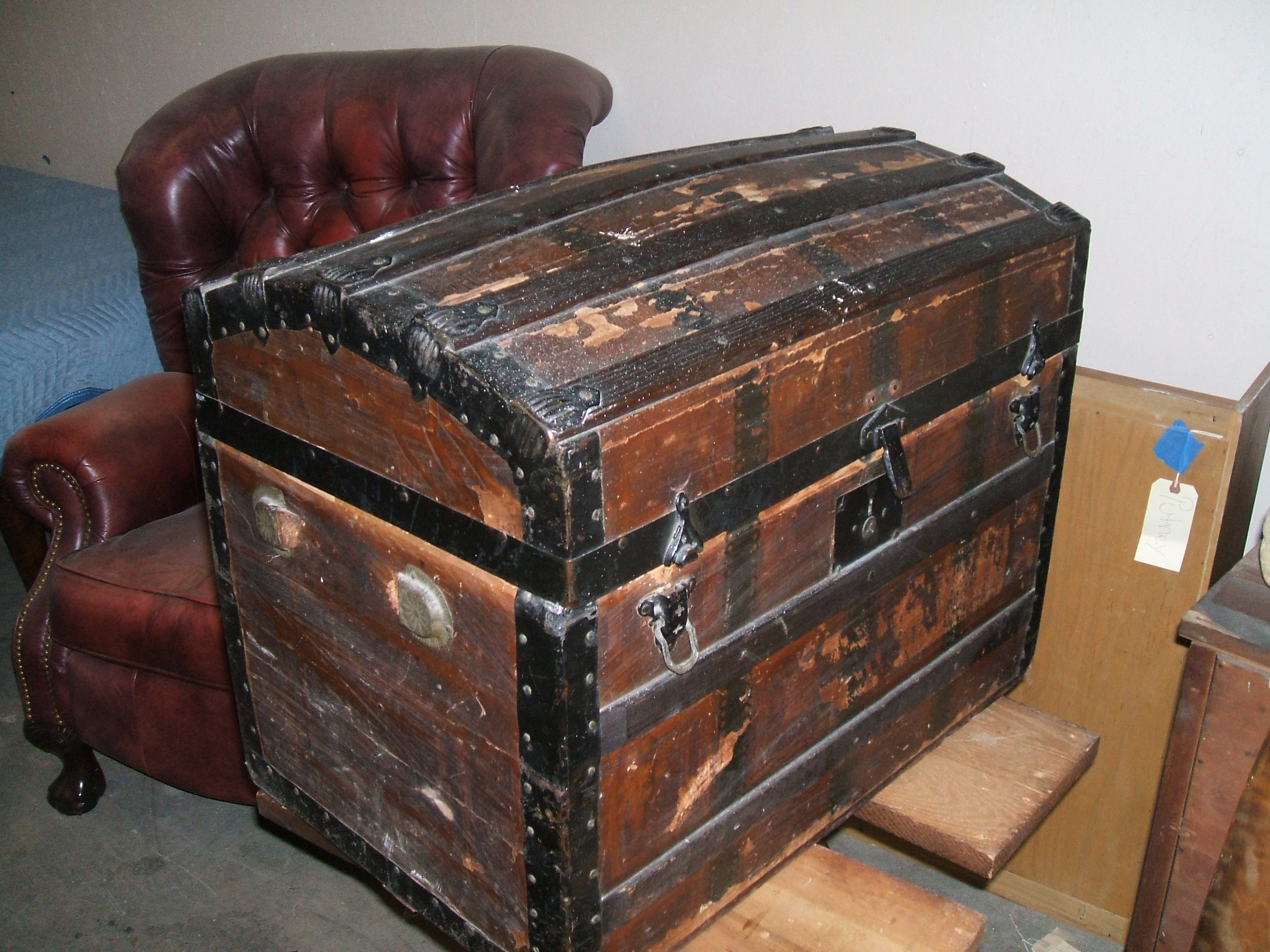 Steamer Trunk (Before)